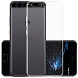 ASLING For Huawei P10 Plus Ultra-thin Soft TPU Transparent Case Back Cover Case