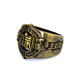Inspired by Cosplay Chyouun Shiryuu Anime Glory Of The King Ring Golden Alloy