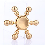 Fidget Spinner Hand Spinner Toys Toys Brass EDCFocus Toy Relieves ADD, ADHD, Anxiety, Autism Stress and Anxiety Relief Office Desk Toys
