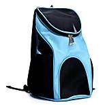 Cat Dog Carrier & Travel Backpack Pet Carrier Portable Breathable Solid Black Blue Red Brown