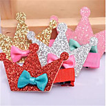 Dog Hair Accessories Dog Clothes Summer Tiaras & Crowns Cute Rainbow