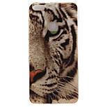 For Huawei P8 Lite (2017) P10 Case Cover Tiger Pattern HD Painted TPU Material IMD Process Phone Case P10 Lite Honor 6X Y5 II Y6 II