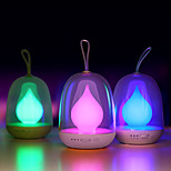 Night Lamp Flame Portable Bombillas USB Rechargeable LED Timing Colorful Lights For Baby Bedroom Sleep Lighting Art Decor