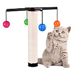 Cat Toy Pet Toys Interactive Scratch Pad Durable Plastic Sisal