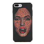 For Apple iPhone 7 7Plus Pattern Case Back Cover Case Sexy Lady Hard PC 6s plus 6 plus 6s 6