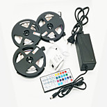 ZDM 15M(3*5M) 2835 RGB 900 LEDs 72W Strip Flexible Light LED  with 44Key IR Remote Controller Kit  and 12V 6A Power Supply AC110-240V