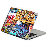 For MacBook Air 11 13/Pro13 15/Pro with Retina13 15/MacBook12 Graffiti Color Decorative Skin Sticker