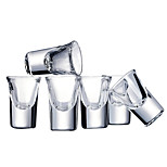 6PCS Colored Novelty Drinkware 30 ml Boyfriend Gift Girlfriend Gift Glass Beer Juice Glass