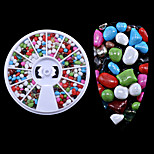 1PC The New  Many Stones Meteorites Grain Small Gravel Nails Decoration  Wheel Loading