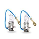 GMY® Halogen Car Light Auto Bulb H3 Clear Series 24V 100W Headlight 2PCS