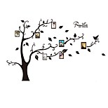 3D Photo Frame Large Tree Wall Stickers Family Tree Photo Wall Decals /Stickers Home Decoration 120*170cm