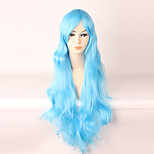 Cosplay Wigs Cosplay Cosplay Long Curly Anime Cosplay Wigs 85 CM Heat Resistant Fiber