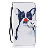 For Huawei P8 lite 2017 Mate9 Card Holder Wallet with Stand Flip Pattern Case Full Body Case Dog Hard PU Leather for Honor5C 7 8 Y5 II Y6 II Y560