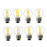 ® Shenmeile 3.5 E14 E27 LED Filament Bulbs G45 4 COB 400 lm Warm White Decorative AC220 AC230 AC240 V 8 pcs