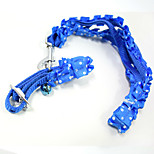 Fashion lace lacework Pet Traction Rope dog collar cat dog harness Pet Christmas accessories Pet Supplies Wholesale sales Width 1.5