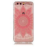 For Huawei P8 Lite (2017) P10 Lite TPU Material IMD Process Pink Taro Pattern Phone Case P10 P9 Lite P8 Lite