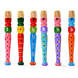 Educational Toy Cylindrical Leisure Hobby Wood Unisex RANDOM COLOR