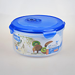 Big Volume Plastic Food Container with Four Side Locks
