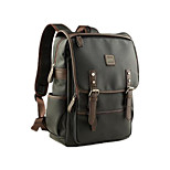 For MacBook Pro Air 11 13  Inch Backpacks PU Leather Solid Color Laptop Universal Bag for Traveling and Leisure 14
