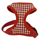 Dog Harness Gird Plaid Black Red Out Door Dog Harness Pet Products for Pets Dogs