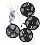 ZDM 20M(4*5M) Waterproof 96W 1200X2835 RGB LEDs Strip Flexible Light  DC 12V 1BIN4 connector with 44Key IR Remote Controller Kit