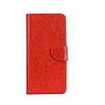 Per Custodie cover A portafoglio Porta-carte di credito Con supporto Con chiusura magnetica Fantasia/disegno Integrale Custodia Glitterato