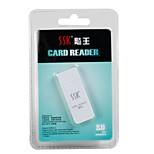 SSK flashing SD card reader SCRS054