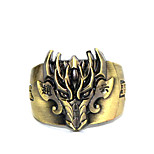 Inspired by Cosplay Chyouun Shiryuu Anime Glory Of The King Ring Golden Alloy I.D 19MM