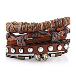 And The Eind Rope Weaving Multilayer Agate Bracelet