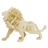 Jigsaw Puzzles 3D Puzzles Building Blocks DIY Toys Lion Wood Model & Building Toy