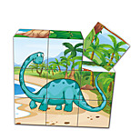 Jigsaw Puzzles 3D Puzzles Building Blocks DIY Toys Square 1 Paper Model & Building Toy