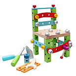 DIY KIT Building Blocks Educational Toy For Gift  Building Blocks Model & Building Toy Wood 2 to 4 Years 5 to 7 Years 8 to 13 Years Toys
