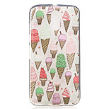 For Motorola Moto G4 Play G4 Plus Case Cover Ice Cream Pattern Painted High Penetration TPU Material IMD Process Soft Case Phone Case