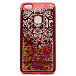 For Huawei P10 Lite P10 P8 Lite2017Case Cover Plating Flowing Liquid Pattern Back Cover Case Mandala Glitter Shine Soft TPU