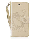 For Huawei Honor 8 Card Holder Wallet Case Full Body Case Heart Hard PU Leather for Huawei  P8 Lite (2017)