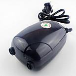 Aquarium Air Pump With Switch(es) Noiseless Non-toxic & Tasteless Artificial Manual Temperature Control Adjustable Plastic