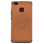 For Huawei P9 P9lite Embossed Pattern Case Back Cover Case Mandala Soft TPU