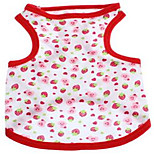 Dog Vest Dog Clothes Summer Fruit Cute