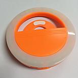 Lampe mémorisée par téléphone portable lampe à retardateur usb chargeur flash de nuit flash de lumière batterie au lithium intégrée orange
