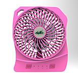 YYF288 Fan  USB Mini Charger Small Fan Portable Dormitory Table Desktop Large Wind Mute Fan