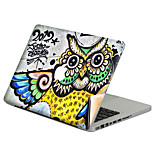 For MacBook Air 11 13/Pro13 15/Pro with Retina13 15/MacBook12 Graffiti Owl Decorative Skin Sticker