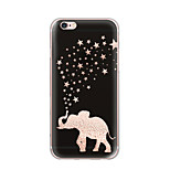 For Case Cover Ultra Thin Pattern Back Cover Case Elephant Soft TPU for iPhone 7 Plus  7  6s Plus  6 Plus SE 5S 5
