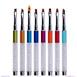 1PC Nail Art tool Flower Petals Wen Pen Flowers Brush  8 Paragraph Optional