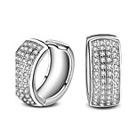 Silver Plated Earrings Set Earrings Wedding / Party / Daily / Casual 2pcs