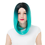 Lolita Wigs Sweet Lolita Color Gradient Bob Lolita Wig 35 CM Cosplay Wigs Wig For