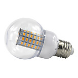 4.5W E27 LLED Globe Bulbs 69 SMD5730 420Lm Warm/Cool White AC 85-265V Bombillas Lighting (1 Piece)