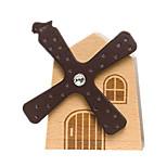 Music Box Windmill Novelty & Gag Toys Wood Unisex