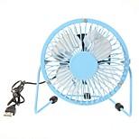 360 - Degree Rotating Usb Small Fan Mini Fan 4 Inch Aluminum Students Ultra-Quiet Usb Fan
