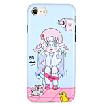For Apple iPhone7 7 Plus Case Cover Pattern Back Cover Case Cartoon Soft TPU  6s Plus  6 Plus  6s 6