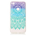 For Huawei P8 Lite (2017) P10 Lite Case Cover Datura Flowers Pattern HD Painted TPU Material IMD Process Phone Case P8 P9 Lite P10